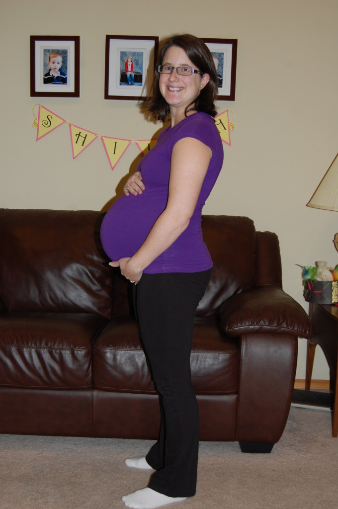 28 Week Belly